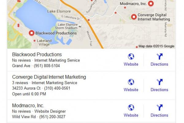 Local SEO internet marketing